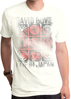 Goodie Two Sleeves Ivory David Bowie Live in Japan Tee - Men's Regular