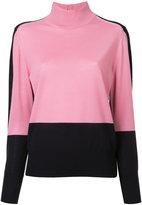 ASTRAET colour block jumper