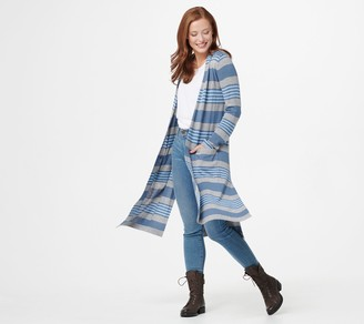 Laurie Felt Cashmere Blend Duster Cardigan with Pockets