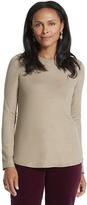 Chico's Karina Shirttail Top