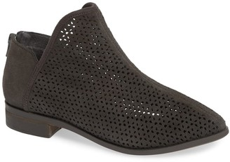Kelsi Dagger Brooklyn Alley Suede Perforated Bootie