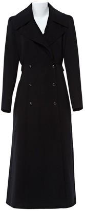 N. Claude Montana \N Black Wool Coats