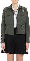 Tomas Maier Women's Appliquéd Stretch-Cotton Jacket