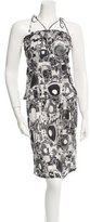 Chanel Printed Silk Dress