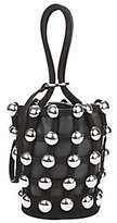 Alexander Wang Roxy Studded Leather Mini Bucket Bag