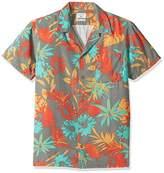 Quiksilver Men's Desert Trip Camp Short Sleeve Shirt