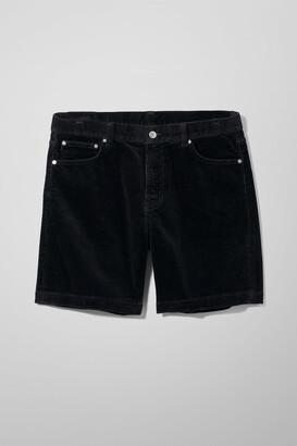 Weekday Vacant Cord Shorts - Black