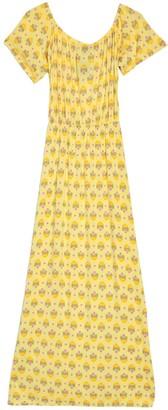 Poof Off-the-Shoulder Maxi Dress