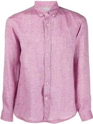 Brunello Cucinelli Textured Distressed Detail Shirt