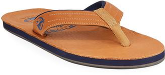 Hari Mari x Nokona Men's Leather Thong Sandals