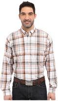 Cinch Long Sleeve Plain Weave Plaid
