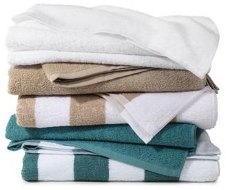 Martex Cabana Cotton Blend Pool Towels, 3 Pack, Linen Solid