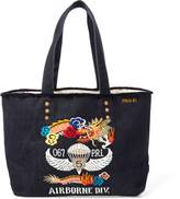Ralph Lauren Dragon-Embroidered Canvas Tote