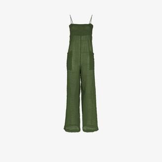 Three Graces Tallie semi-sheer jumpsuit