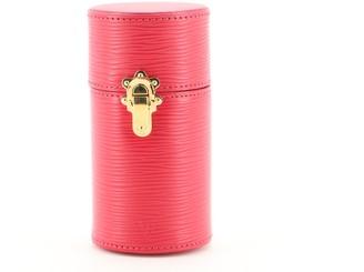Louis Vuitton 100ML Fragance Travel Case Epi Leather