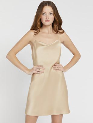 Alice + Olivia Harmony Drapey Slip Dress
