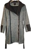 Hotel Particulier Grey Tweed Coat for Women