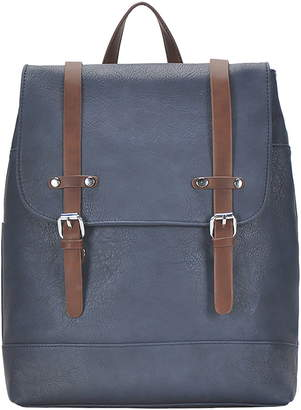 Antik Kraft Schoolboy Faux Leather Backpack