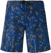 Z Zegna camouflage-print swimming shorts - men - Polyester - S