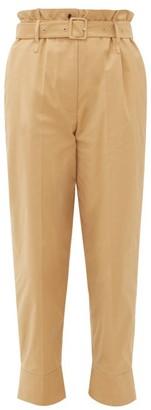 Simone Rocha Paperbag-waist Technical Trousers - Camel