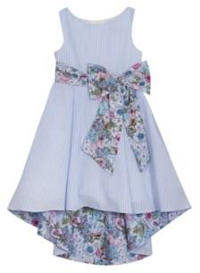 Rare Editions Big Girls Printed Seersucker Dress
