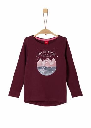 S'Oliver Girls' 53.909.31.8894 Longsleeve T-Shirt