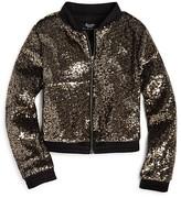 Bardot Junior Girls' Sequined Bomber Jacket - Sizes 8-16