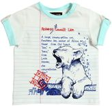 Roberto Cavalli Lion Cub Printed Cotton Jersey T-Shirt