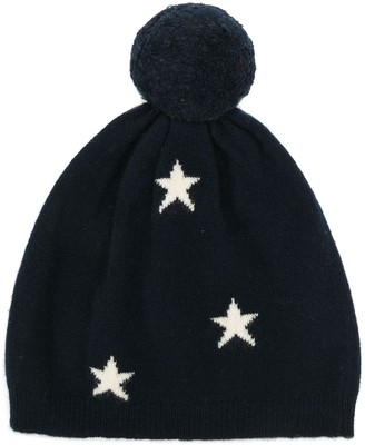 Chinti and Parker Stars Knitted Beanie