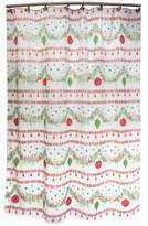"Dena Noelle 72""x72"" Holiday Shower Curtain"