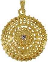 Banithani 18K Goldplated Traditional Chain Pendant Designer Jewelry