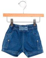 Christian Dior Girls' Classic Denim Shorts