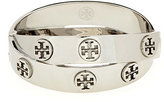 Tory Burch Metal Logo Double-Wrap Bracelet