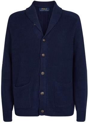 Polo Ralph Lauren Knitted Shawl-Collar Cardigan
