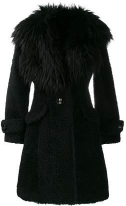 Elisabetta Franchi faux fur coat