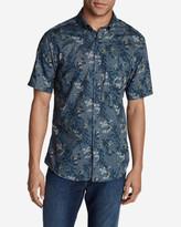 Eddie Bauer Men's Vashon Short-Sleeve Shirt - Print