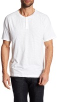 Kenneth Cole New York Dressy Slub Henley Tee