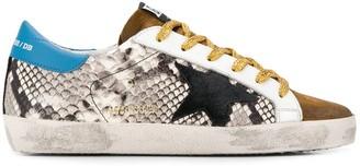 Golden Goose printed Superstar sneakers