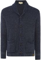 Denim And Supply Ralph Lauren Shawl Neck Button Front Ribbed Cardigan