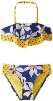 Hula Star Girls' Daisy Chain Bikini Set (2T6X) - 8154262