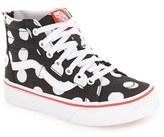 Vans Toddler Girl's 'Sk8-Hi' Zip Sneaker