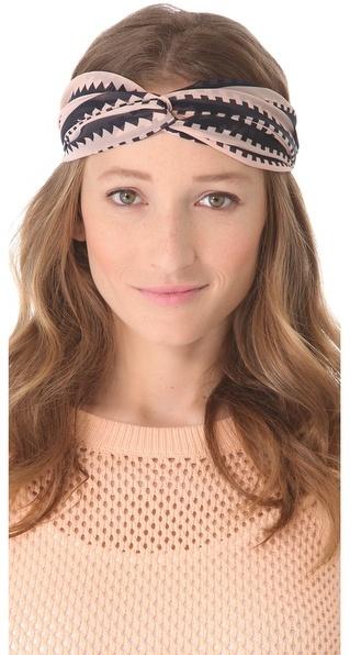 Eugenia Kim Genie by Penny Geometric Turban Headband