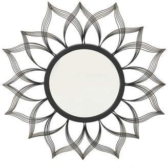 Gdfstudio GDF Studio Seranade Floral Hanging Wall Mirror