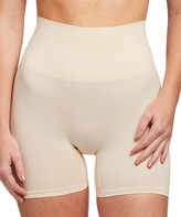 Yummie Women's Underwear Nude - Nude Moderate Compression Seamless Shaping Shorts - Women