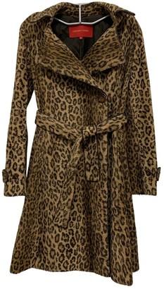 Gerard Darel Camel Faux fur Coat for Women