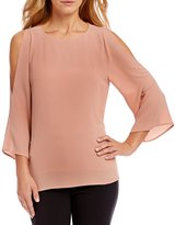 Alex Marie Cathy Cold-Shoulder Blouse