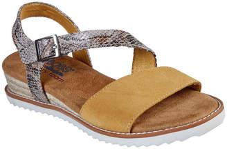 Skechers BOBS FROM  Bobs Womens Desert Kiss Cactus Rose Strap Sandals