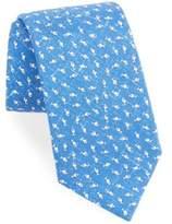 Isaia Fish Print Tie