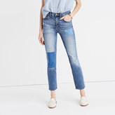 Madewell Cruiser Straight Crop Jeans: Patched-Up Edition