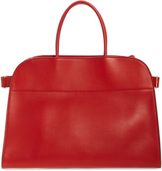 The Row Margaux 17 Leather Bag